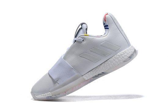 Tênis Adidas Harden Vol. 3 Ivory Masculino - Branco
