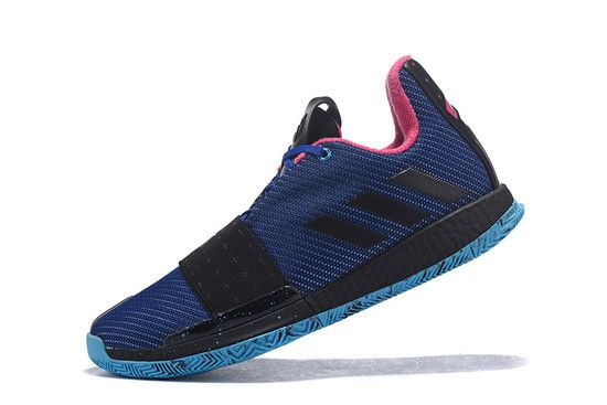 Tênis Adidas Harden Vol. 3 Masculino - Azul/Preto/Rosa