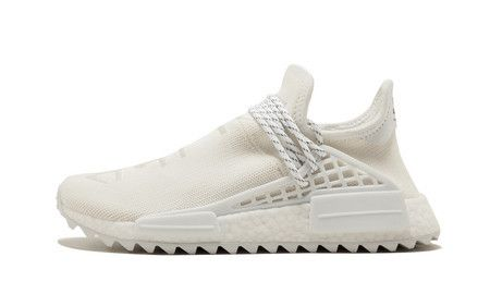 Tênis Adidas Pharrell Williams Humam Race HU NMD Trail - Branco
