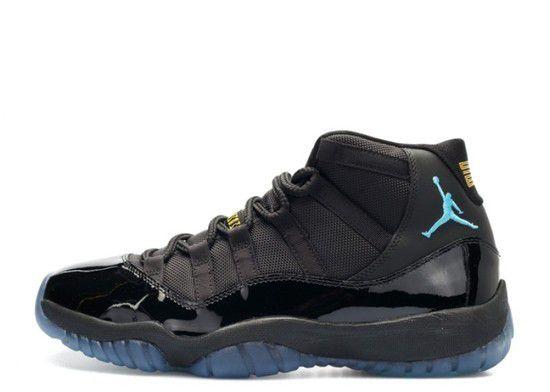 Tênis Air Jordan 11 Retro Gamma Blue Masculino - Preto/Azul