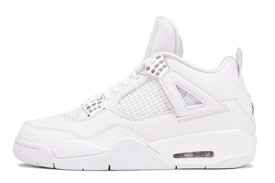 Tênis Air Jordan 4 Retro Pure Money Masculino - Branco