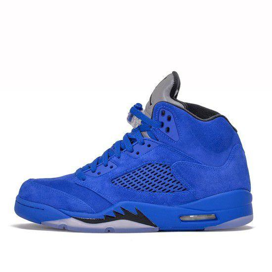 Tênis Air Jordan 5 Retro Masculino - Azul