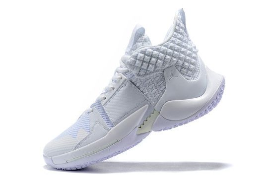 Tênis Jordan Why Not Zer0.2 Triple White Masculino - Branco