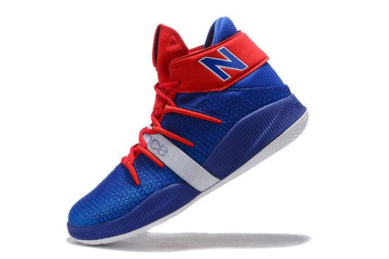 Tênis New Balance Kawhi OMN1S Return Of The Fun Guy - Azul/Vermelho