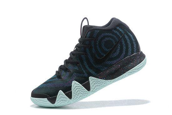 Tênis Nike Kyrie 4 80s Masculino - Preto/Azul
