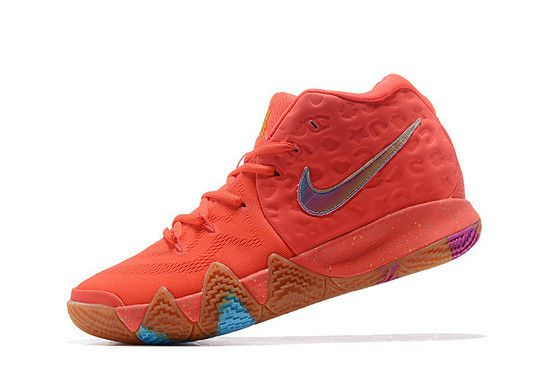Tênis Nike Kyrie 4 Lucky Charms Masculino - Laranja/Multi-Cores