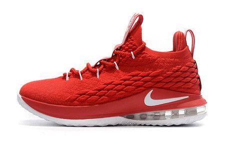 Tênis Nike Lebron 15 Low Masculino - Vermelho