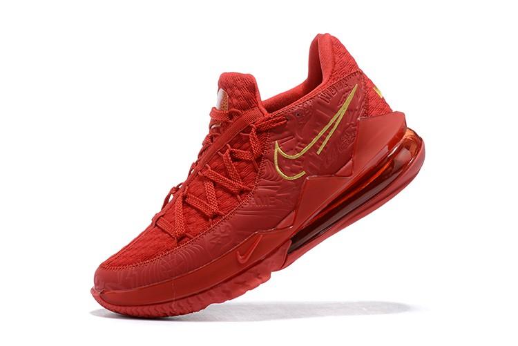 Tênis Nike LeBron 17 Low X Titan