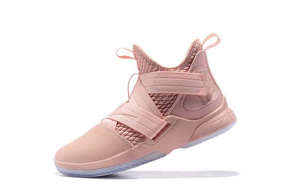 Tênis Nike Lebron Soldier XII Masculino - Rosa