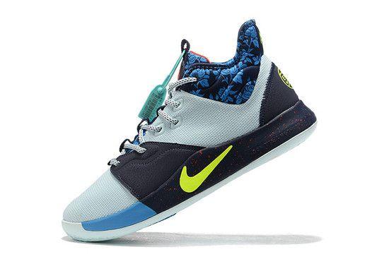 Tênis Nike Paul George 3 EYBL - Azul/Laranja