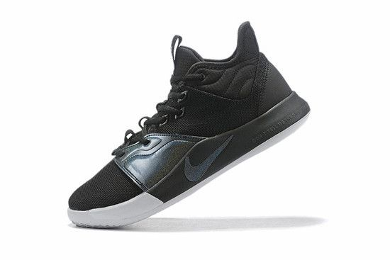 Tênis Nike Paul George 3 Inridescent - Preto/Branco