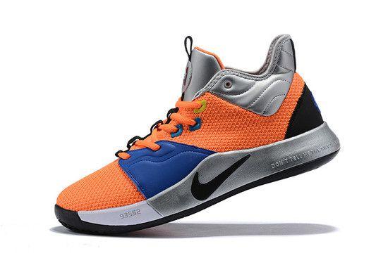 Tênis Nike Paul George 3 X NASA Armstrong Buildin Masculino-Laranja