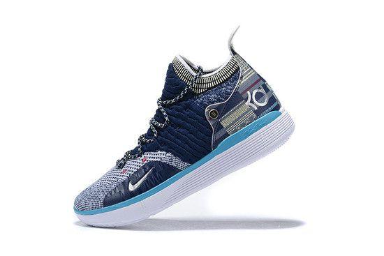 Tênis Nike Zoom KD 11 BHM Masculino - Azul/Branco