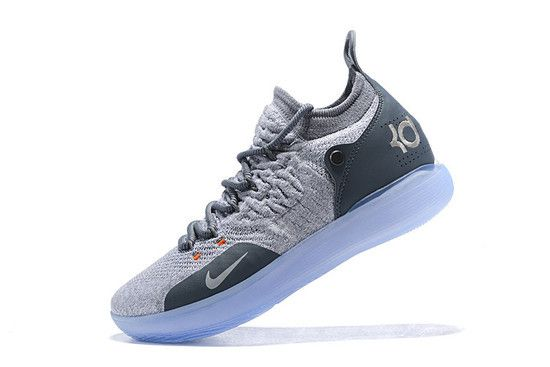 Tênis Nike Zoom KD 11 Cool Grey Masculino - Cinza