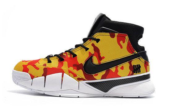 Tênis Nike Zoom Kobe 1 Protro X Undefeated Masculino - Camo Amarelo
