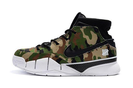 Tênis Nike Zoom Kobe 1 Protro X Undefeated Masculino - Camuflado