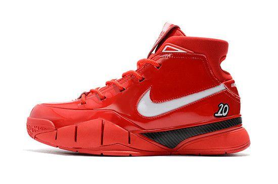 Tênis Nike Zoom Kobe 1 Protro X Undefeated Masculino - Vermelho