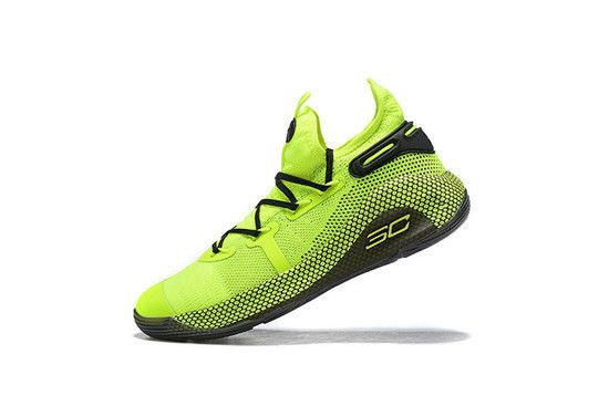 Tênis Under Armour Curry 6 Coy Fish Masculino - Amarelo/Preto