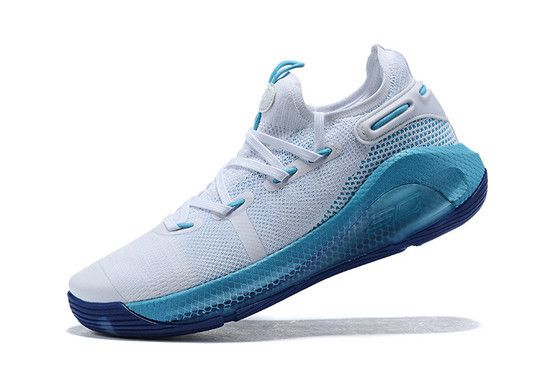 Tênis Under Armour Curry 6 GS Christmas In The Town Masculino - Branco