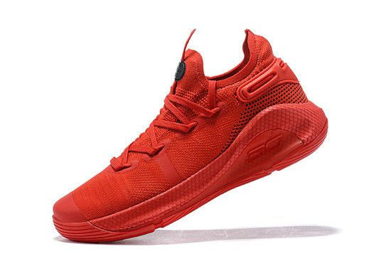 Tênis Under Armour Curry 6 Heart Of The Town Masculino - Vermelho