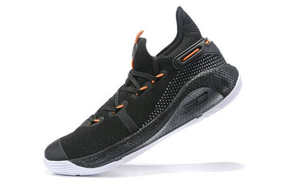 Tênis Under Armour Curry 6 Oakland Sidesh Masculino - Preto/Laranja