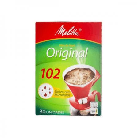 COADOR PAPEL P/CAFE N102 C/30 MELITTA