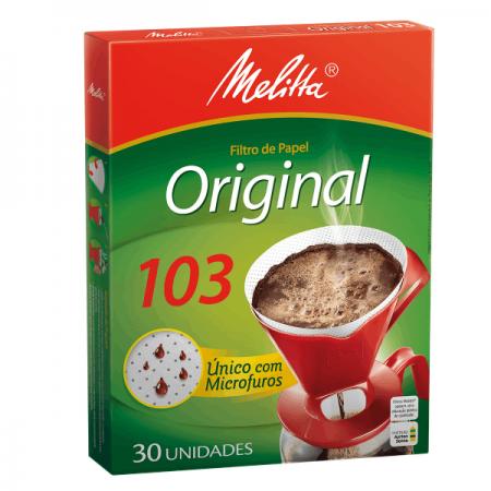 COADOR PAPEL P/CAFE N103 C/30 MELITTA