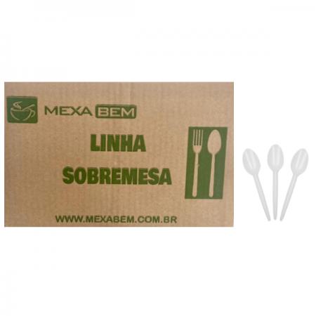 COLHER SOBREMESA BR C/1000 MEXA BEM