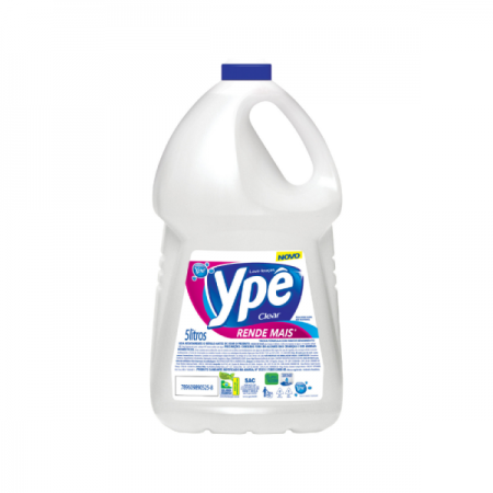 DETERGENTE 5L CLEAR YPE