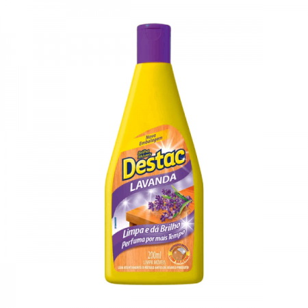 LUSTRA MOVEIS 200ML LAVANDA DESTAC