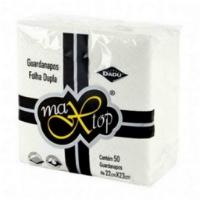 GUARDANAPO PAPEL FD 22X23 C/50 MAX TOP