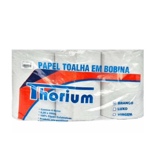 PT BOBINA FS C/6 24G BRANCA THORIUM