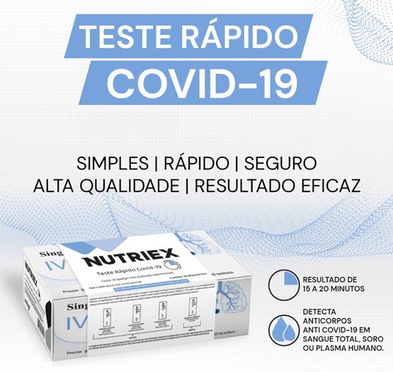 Teste Coronavírus Covid-19