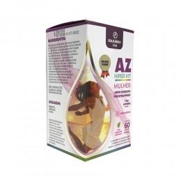 A-Z Hiper Vit - Mulher - 60caps - Equilíbrio Vita
