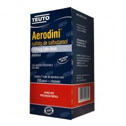 Aerodini 100mcg Aerosol - Teuto