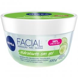 Creme Facial Nivea Gel Hidratante - 100g