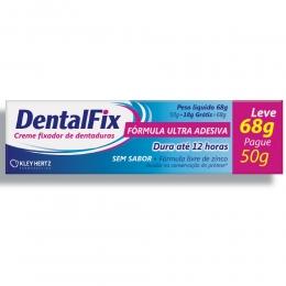 Dentafix Creme Fixador para Dentaduras - Sem Sabor - 68g