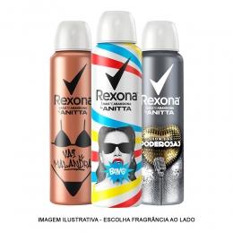 Desodorante Aerosol Feminino Rexona By Anitta - 150ml