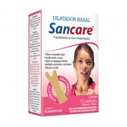Dilatador Nasal SanCare Feminino com 10 Unidades
