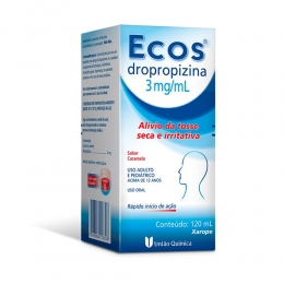 Ecos  - Dropropizina 3mg/ml - Xarope com 120ml
