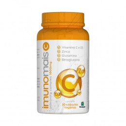 IMUNOMAIS - VITAMINA C + ZINCO + VITAMINA D3 - SUA DOSE DE IMUNIDADE - C/ 30 CPS - NUTRILIBRIUM
