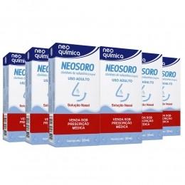 Kit 6 Neosoro 0,5mg/mL com Gotejador com 30mL - Neo Química