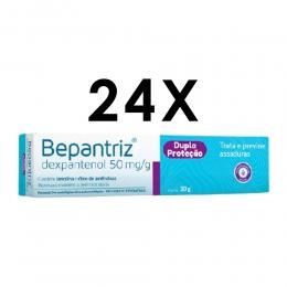 Kit com 24 unidades - Bepantriz Pomada Dermatológica Para Dermatite Bisnaga com 30g