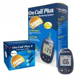 Kit on call plus ii - compre 01 caixa com 50 tiras e ganhe 01 medidor de glicose