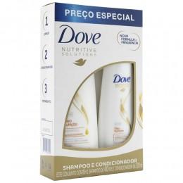 Kit shampoo dove oleo nutrição 400ml + condicionador 200ml