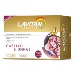LAVITAN CABELOS E UNHAS C/ 30 CÁPSULAS