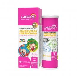 Lavitan Infantil Patati Patatá Sabor Tutti-Frutti - c/ 10 Comprimidos Efervescentes