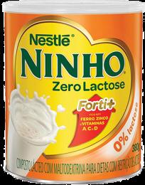 LEITE EM PÓ NINHO FORTI+ ZERO LACTOSE 380G