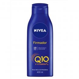 Loção Hidratante Corporal Nivea Firmador Q10 + Vitamina C - Pele Seca a Extrasseca 400ml