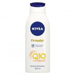 Loção Hidratante Corporal Nivea Firmador Q10 + Vitamina C - Todos os Tipos de Pele 400ml